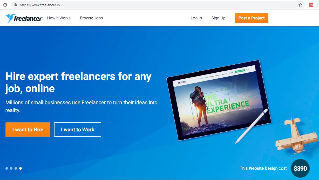 find freelancer online