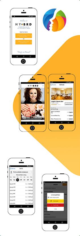 Hybrd Beauty App